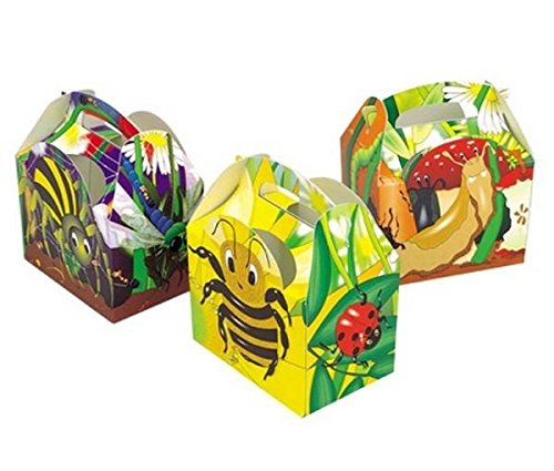 Kids Party Food Pack of 20 Ladybird Sandwich Boxes