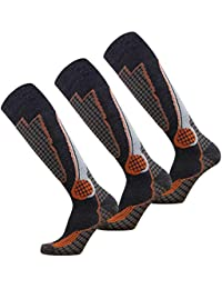 Pure Athlete High Performance Wool Ski Socks – Outdoor...