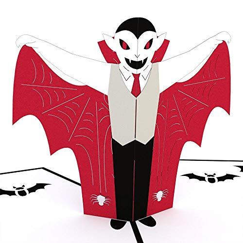 Lovepop Vampire Coffin Halloween 3-D Pop-Up Greeting Card -