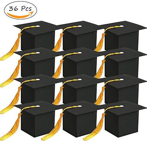 (36Pcs Graduation Decorations Graduation Gift Box Graduation Candy Boxes Chocolate Box for Graduation Party Favor)