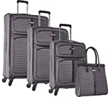 Ninewest an Adventure 4 Piece Luggage Set