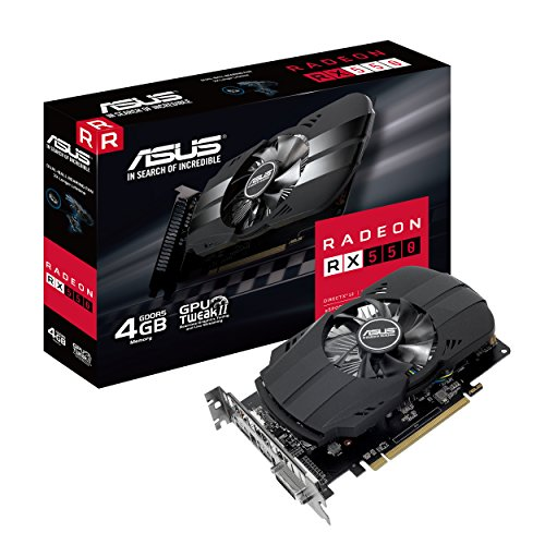 889349963289 Graphic Cards - Asus PH-RX550-4G-M7