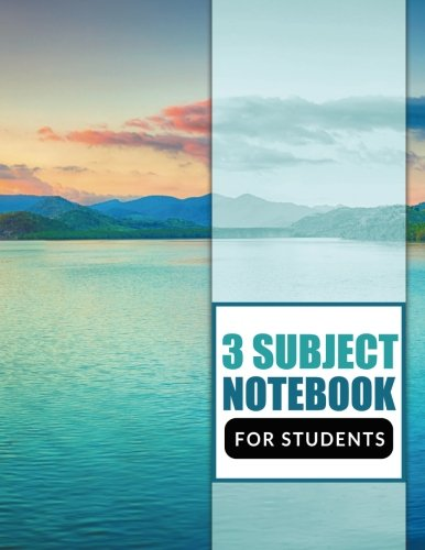 Notebook Subject (3 Subject Notebook For Students)