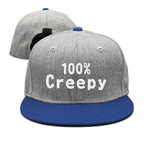 SJSNBZ 100% Creepy Funny Halloween Custom Womens Mens