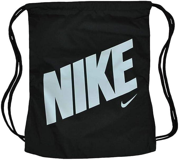 095e027e95 Nike NK Graphic Gym Sack unisexe sac à dos gymnastique sport Noir/Blanc:  Amazon.fr: Vêtements et accessoires