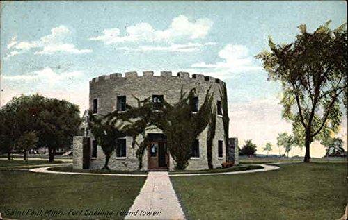 - Fort Snelling round tower St. Paul, Minnesota Original Vintage Postcard