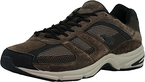 Country Walking Shoe - AVIA Men's Volante Country Walking Shoe, Dark Chestnut/Chocolate/Black, 8 M US