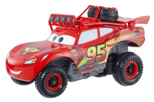 Disney / Pixar Cars Radiator Springs 500 1 / 2 Wild Racer Lightning Mcqueen Pullback Vehicle by Mattel B01MA38Z4K