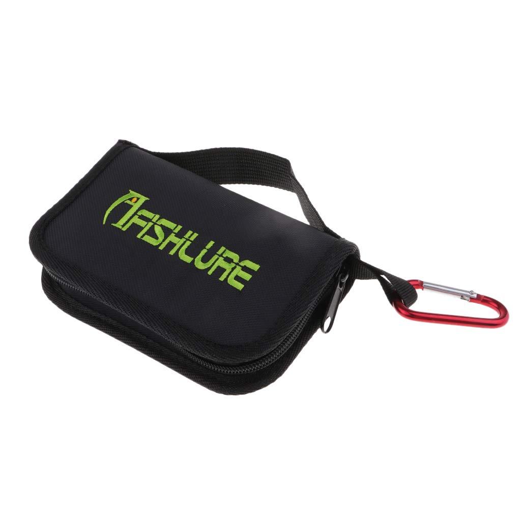 Soft Bait Binder Water Resistant Fishing Spoon Lure Bag Tackle Storage Bag Case DYNWAVE Baits Storage Bag