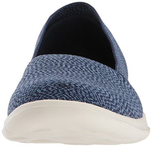 discount tumblr Skechers Women's Go Walk Lite-15412 Loafer Flat Navy clearance good selling clearance cheap price exclusive online discount professional QYR4uG0um