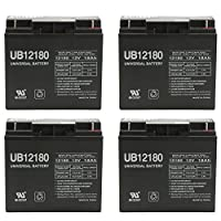 12V 18AH SLA Battery for Westward Battery Jump Starter + 4 Pack