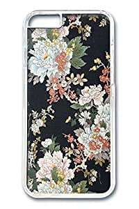 iPhone 6 Case, Classical Flowers Custom Hard PC Clear Case Cover Protector for New iPhone 6 4.7inch