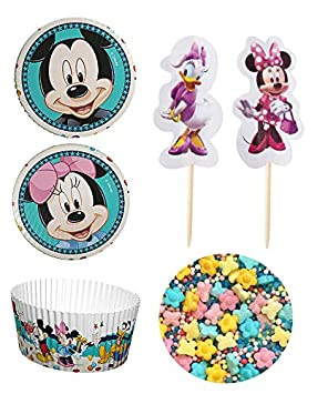 Minnie-Mouse Disney, Mickey Mouse Backset, Cupcake, Muffin ...