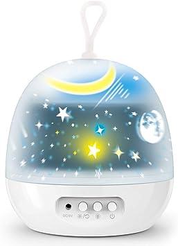 Amazon.com: Delicacy - Proyector de luz nocturna, juego de 4 ...