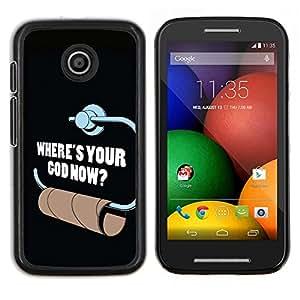 Caucho caso de Shell duro de la cubierta de accesorios de protecciš®n BY RAYDREAMMM - Motorola Moto E - Papel higišŠnico