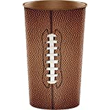 Football 22 oz Plastic Cup, 20 ct