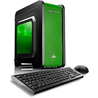 CybertronPC Electrum QS-A4 Gaming Desktop - AMD A4-7300 3.80GHz Dual-Core Processor, 8GB DDR3 Memory, AMD Radeon HD 8470D Graphics, 1TB Hard Drive, Microsoft Windows 10 Home 64-Bit