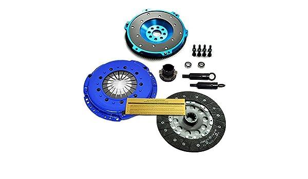 EFT etapa 1 HD Kit de embrague w/T6 aluminio Volante BMW 323 325 328 525 528 E36 E39: Amazon.es: Coche y moto