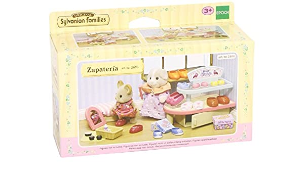 Amazon.es: SYLVANIAN FAMILIES - Playset zapatería (2876): Juguetes ...