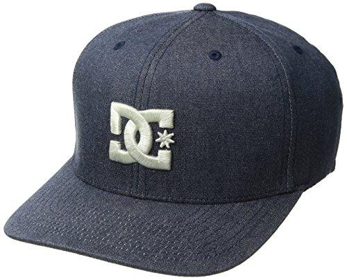 DC Men's Capstar TX Hat, Dark Indigo, S/M Dc Shoes Athletic Cap