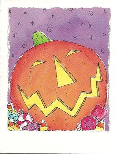 Halloween Holiday Trick Or Treat Card Party Celebration Envelope School Fun 8 Ct for $<!--$4.99-->