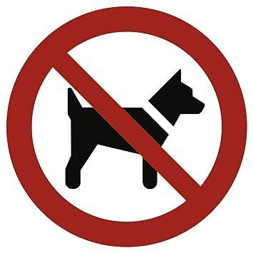 Cartel prohibido llevar los Perros según ASR a1.3/DIN 7010 ...
