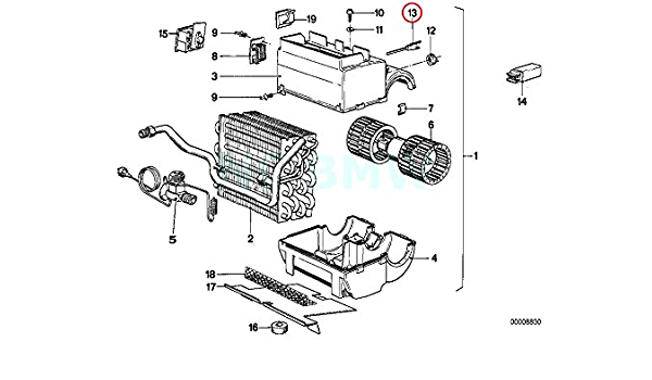Camp prise stabilisateur BMW 5 e60 e61 530 6 e63 e64 645 7 e65 f01 A.B.S