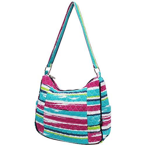 Fashion NGIL Quilted Bag Stripes Rainbow Hobo 7xg5w