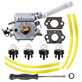 Mckin 308054079 Carburetor with Adjustment Tool Fuel Line for Ryobi RY08420 RY08420A Backpack Blower