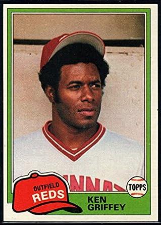 8bf4420b25 Amazon.com: Baseball MLB 1981 Topps #280 Ken Griffey Sr. Reds ...