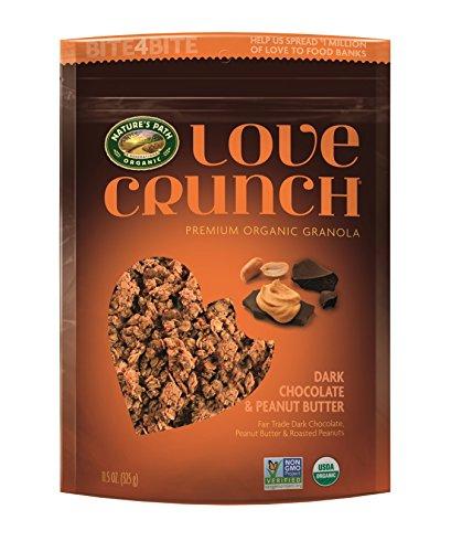 Main Peanut Butter (Nature's Path Organic Love Crunch Premium Granola, Dark Chocolate Peanut Butter, 11.5 Ounce (6 Count))
