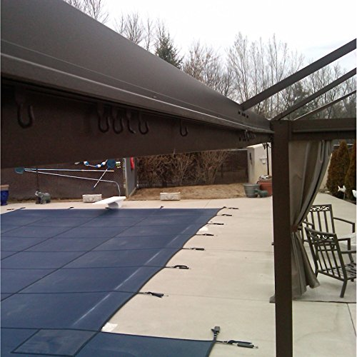 RipLock 350 Pillared 10 x 12 Gazebo Replacement Canopy and Netting