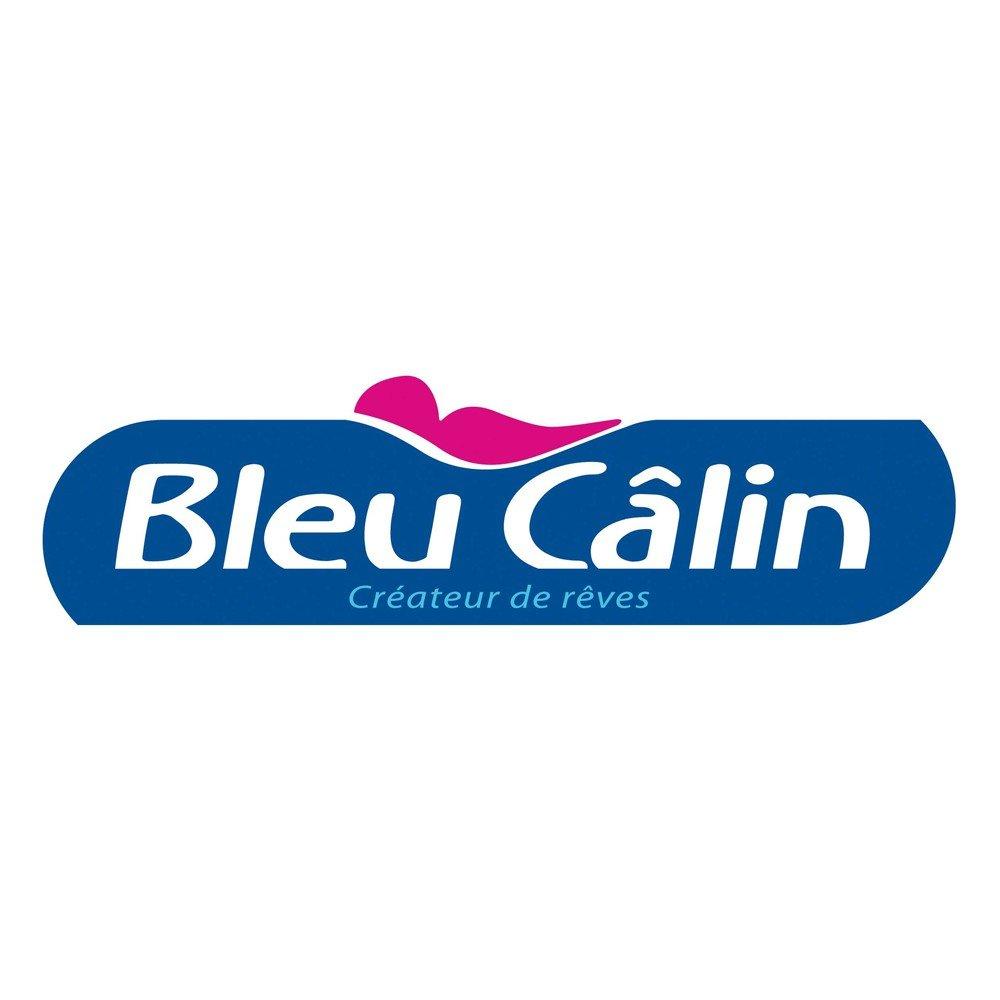 Bleu C/âlin Caradou Juego de Cama para Ni/ños Edred/ón incluido CARC90 Coral Algod/ón 4 Piezas 90x190 cm ODILE