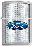 Zippo Ford Diamondplate Custom Lighter New Release
