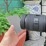 Digital Gray Card Set,3 in 1 Pocket-Size Digital Camera 18% White Black Grey Balance Cards Neck Strap Digital Photography