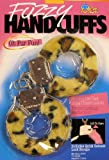 Leopard Fur Fuzzy Handcuffs