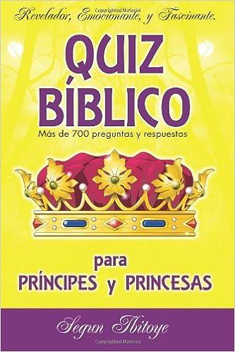 Descarga gratuita de libros de texto en inglés. Quiz Bíblico para Príncipes y Princesas 0956814271 RTF
