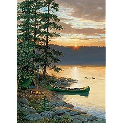 Cobble Hill 57162 Mo 1000 Canoa Lake Puzzle Div