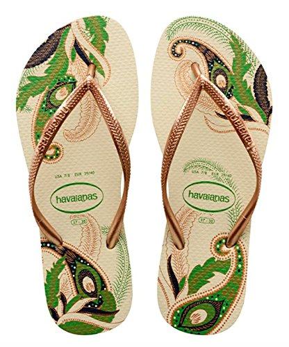 Slim Tongs Femme Organic Beige Havaianas nZwqYvwd
