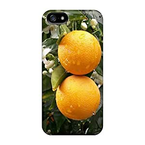 For Iphone 5/5s Premium Tpu Case Cover Oranges After The Rain Protective Case