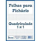 Tamoio 1726, Bloco Para Fichário Universitário Quadriculado 50Folhas, Multicolor, pacote de 5