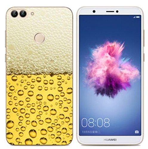 PREVOA Funda para Huawei P smart - Colorful Silicona TPU Funda Case para Huawei P smart Smartphone - 9 8
