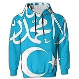 Muslim Shahada Islam Novelty Cool 3D Graphic Hoodie Sweatshirt For Men Pullover