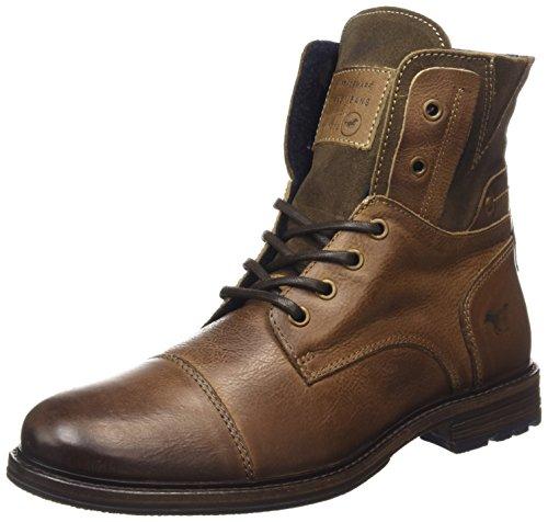 Courtes Boot Classics Bottes Chaude Homme Mustang Erde 308 Doublure Schnür Braun Marron IqHw5t67
