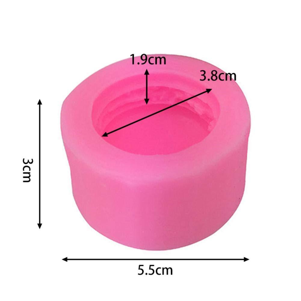 5,5 3 cm. kapokilly 3D Macaron Silikonform 3D Stereo Modell DIY Handgemachte Seife Kerzenform Fondant Kuchenform Schokoladenform