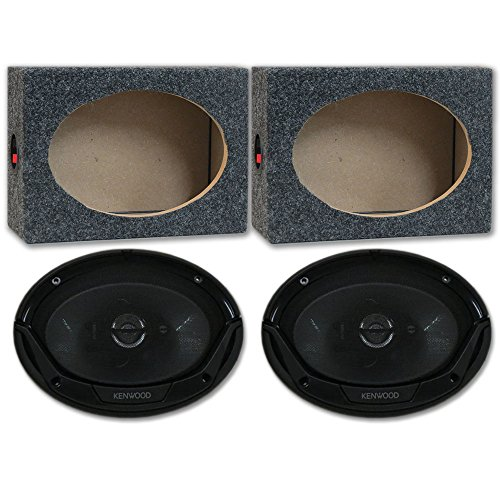 Kenwood 6x9 3way Speakers - 5