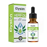 Premium Hemp Oil - Stress relief & Anxiety Support - Rich in 3 & 6 Omega Fatty Acids - Anti Inflammatory - Natural Pain Reliever - Herbal Supplements 1 fl oz