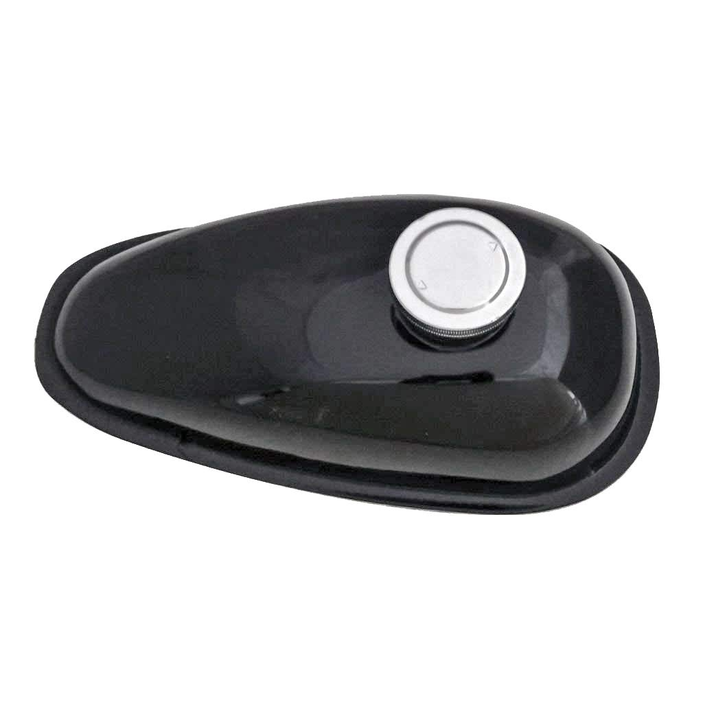 TDPRO 2L Fuel Gas Tank with Cap for 49cc 66cc 80cc Motorized Bicycle