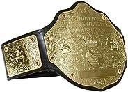 Maxan World Heavyweight Championship Big Gold Wrestling Replica Belt Size 2mm Gold