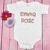 Personalized Baby Bodysuit, Baby's Name, Birth Announcement, Custom Baby Shower Newborn Gift, Toddler T Shirt